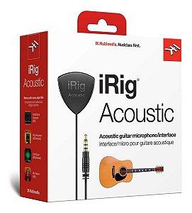 Captador Interface Violão Irig Acoustic iPhone Ipad Mac