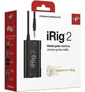 INTERFACE DE AUDIO MOBILE GUITARRA  IRIG 2 IPHONE IPAD IOS
