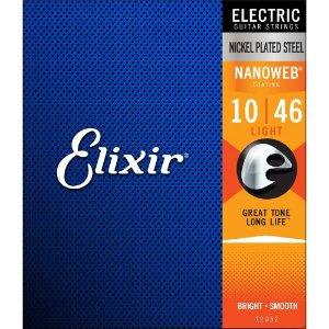 ENCORDOAMENTO GUITARRA ELIXIR 0.10-046 NANOWEB LIGHT 12052