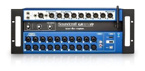 MESA DE SOM SOUNDCRAFT UI24R DIGITAL