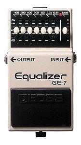 PEDAL DE GUITARRA BOSS EQUALIZER GE 7 P/ GE7