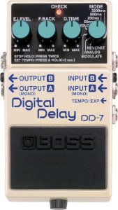PEDAL DE GUITARRA BOSS DIGITAL DELAY DD7