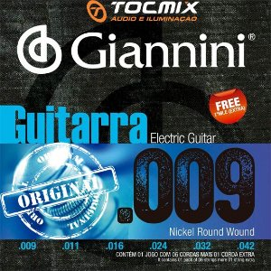 ENCORDOAMENTO GUITARRA GIANNINI 009