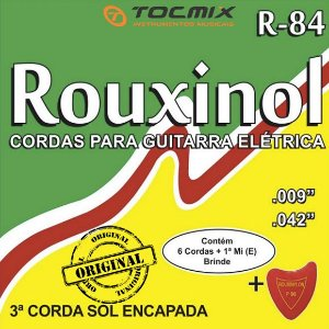 ENCORDOAMENTO GUITARRA 009 ROUXINOL R84