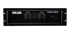 AMPLIFICADOR POTENCIA MARK AUDIO MK 4800 PRO ORIGINAL NFE