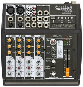MESA DE SOM SOUNDCRAFT SX602FX SX602 FX USB
