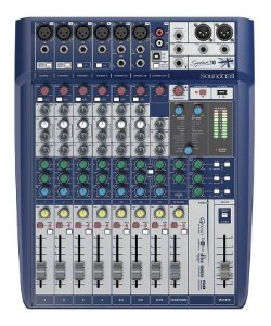 MESA DE SOM SOUNDCRAFT 10 CANAIS SIGNATURE USB MIXER
