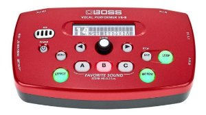 PEDAL PROCESSADOR VOZ BOSS VE5 RED VOCAL PERFORMANCE