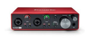 INTERFACE AUDIO FOCUSRITE SCARLETT 2I2 3 GER