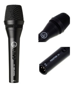 MICROFONE DINÂMICO AKG P3S PERCEPTION