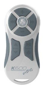 CONTROLE LONGA DISTANCIA JFA RF K600 BRANCO/CINZA 600 METROS