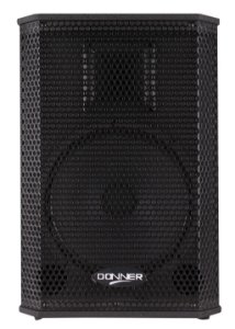 "CAIXA ATIVA 10"" FRONTAL DONNER SAGA 10A PT 200WATTS RMS NFe"