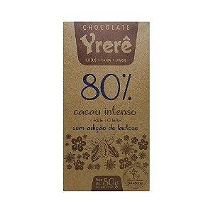 Yrerê 80% Intenso - Barra de 80g