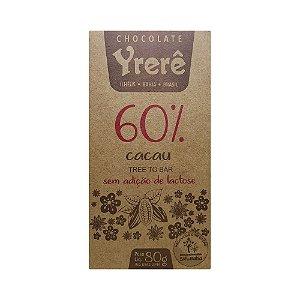 Yrerê  60% Intenso - Barra de 80g