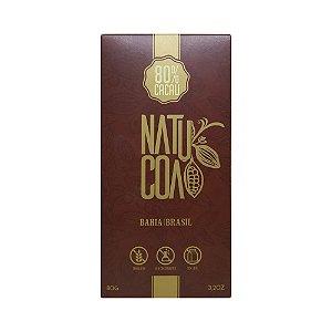 Natucoa 80% Intenso - Barra 80g