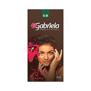 Gabriela 73% Intenso - Barra de 85g