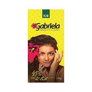 Gabriela 45% ao leite - Barra de 85g