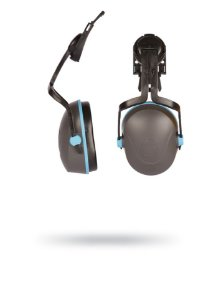 Protetor Auricular Abafador Tipo Concha L-320C de acoplar no capacete