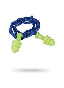 Protetor Auricular Tipo Plug Quantum com Corda em saco