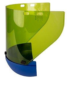Viseira Cilíndrica para Protetor Facial Eletricista Arc-Flash