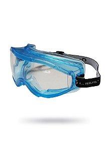 Óculos de Proteção Ampla Visão New Classic Incolor Antiembaçante