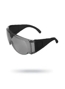 Óculos de Proteção Sobrepor Visita Cinza sem tratamento