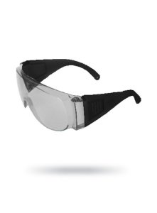 Óculos de Proteção Sobrepor Visita Incolor sem tratamento