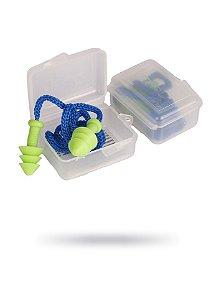 Kit com 20 Protetor Auricular Tipo Plug Quantum com Corda em caixa