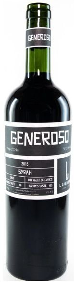 Laurent Generoso Syrah tinto 750ml