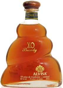 Brandy Alvisa XO Organic 500ml