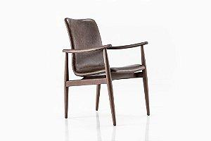 Cadeira Sato com braço (Tecido)
