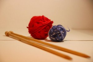 Agulha para tricô em bambu - número 06 e 07