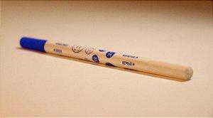 Borracha de caneta tinteiro