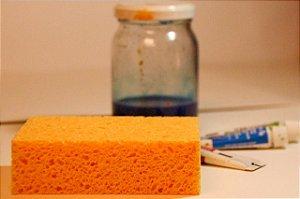 Esponja sintética para pintura