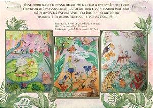 Livro Fada Miê - a guardiã da floresta