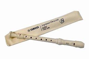 Flauta Doce Soprano Barroca Yamaha 24B