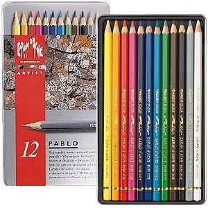 Lápis de cor Pablo Caran d´Ache - 12 cores