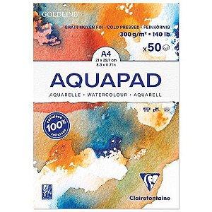 Papel para aquarela Aquapad A4 300g