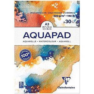 Papel para aquarela Aquapad A3 - 300gr