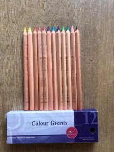 Lápis grosso Lyra Giant Colour - 12 básicas