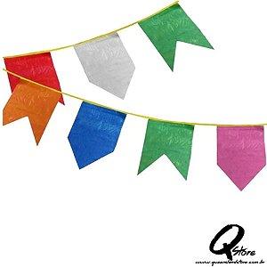 Bandeirinha de Festa Junina Plástica-10 metros