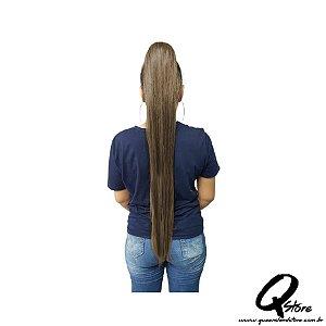 Aplique Rabo de Cavalo Liso Bio Fibra 80 cm Cor:SP2/4/30 - Fashion Line