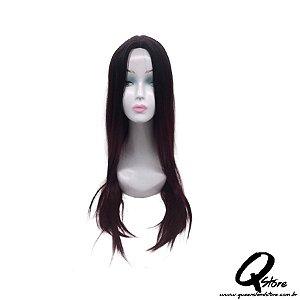 Peruca Orgânica Liza - Cor OT1/Burg- Fashion Line
