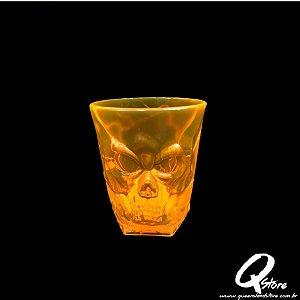 Copo de Caveira Laranja - 310 ml