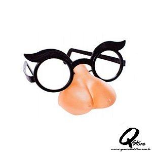 Óculos c/ Nariz de Seios Plástico s/ Lente- Unidade