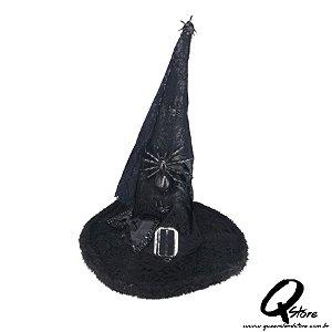 Chapéu de Bruxa Luxo  60 cm - Mod 2
