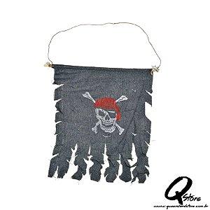 Bandeira Pirata  - Halloween
