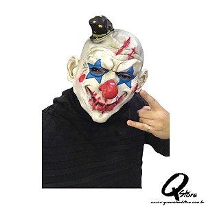 Máscara Palhaço Sorriso Terror -Unidade