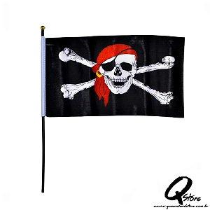 Bandeira Pirata Grande  - Halloween