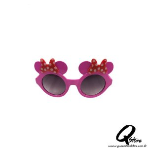 Óculos Minnie Rosa c/ Lente Plástico- Infantil